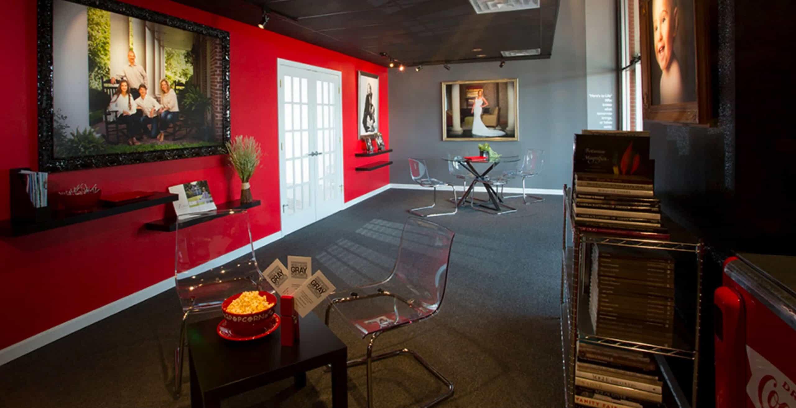 Wess Gray studio reception area