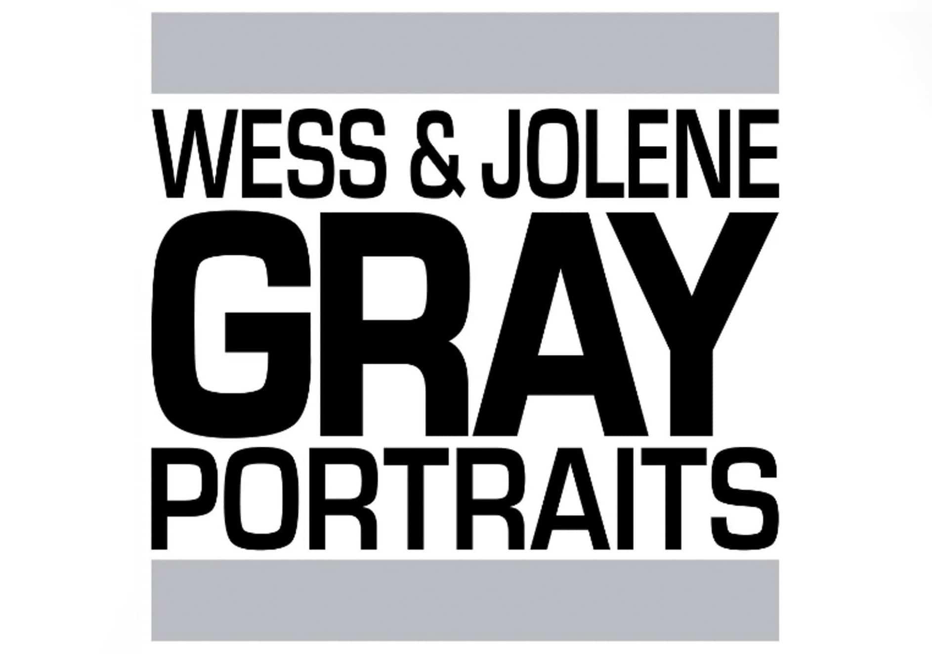 Wess and Jolene Gray Portraits logo